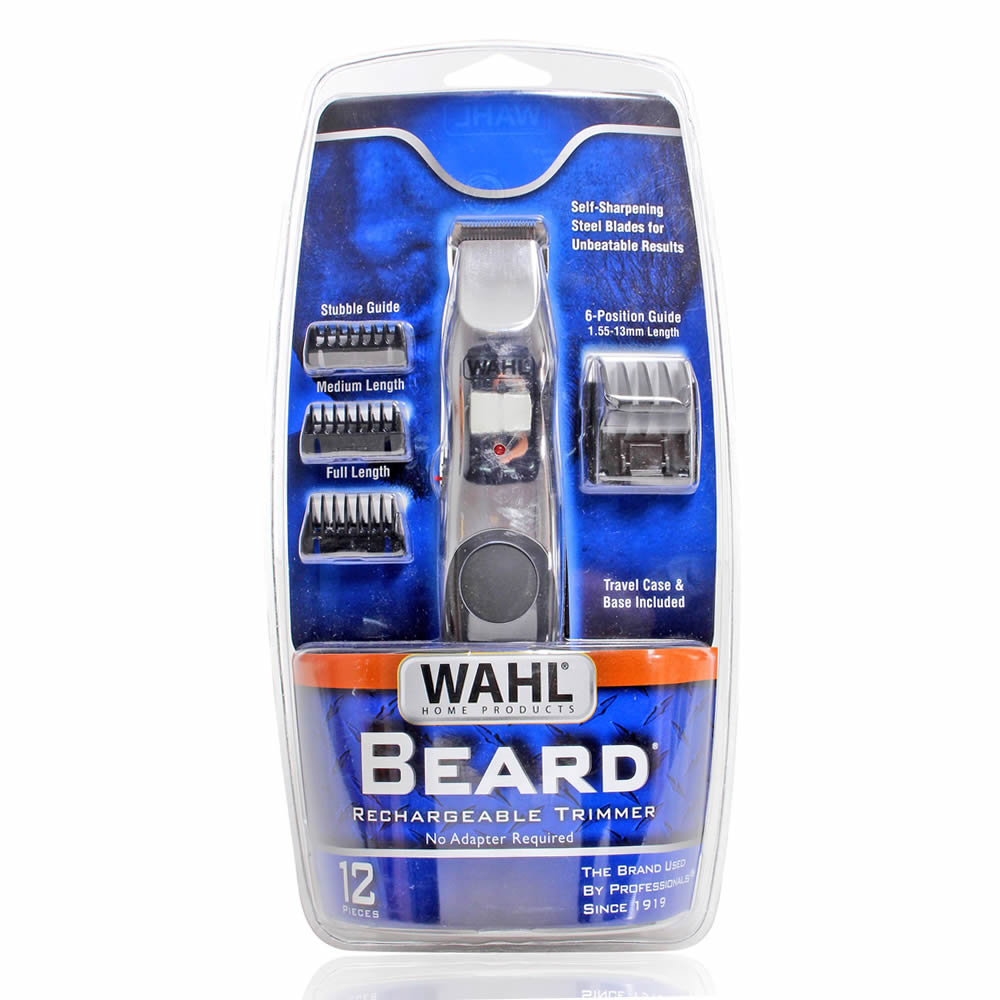 Adesivo Carenagem Kart Mini ~ Aparador de Barba Wahl Beard Rechargeable Trimmer Bivolt