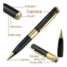 Caneta Espi� Full HD 1280x960 (Suporta at� 16GB)