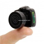 MiniCam Y200 - A menor c�mera digital do mundo