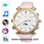 Rel�gio Espi�o Feminino c/ MP3 Player (8GB)