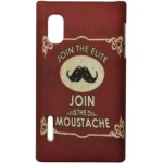 Capa para LG Optimus L5 Join Moustache