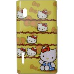 Capa para LG Optimus L5 Hello Kitty