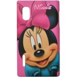 Capa para LG Optimus L5 Minnie Fosca