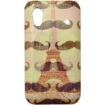 Capa para Samsung Galaxy Ace Mustaches Paris