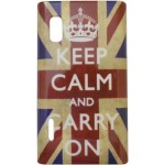 Capa para LG Optimus L5 Keep Calm Inglaterra