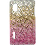 Capa para LG Optimus L5 Degrad� Strass