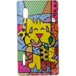 Capa para LG Optimus L5 Romero Britto Dog