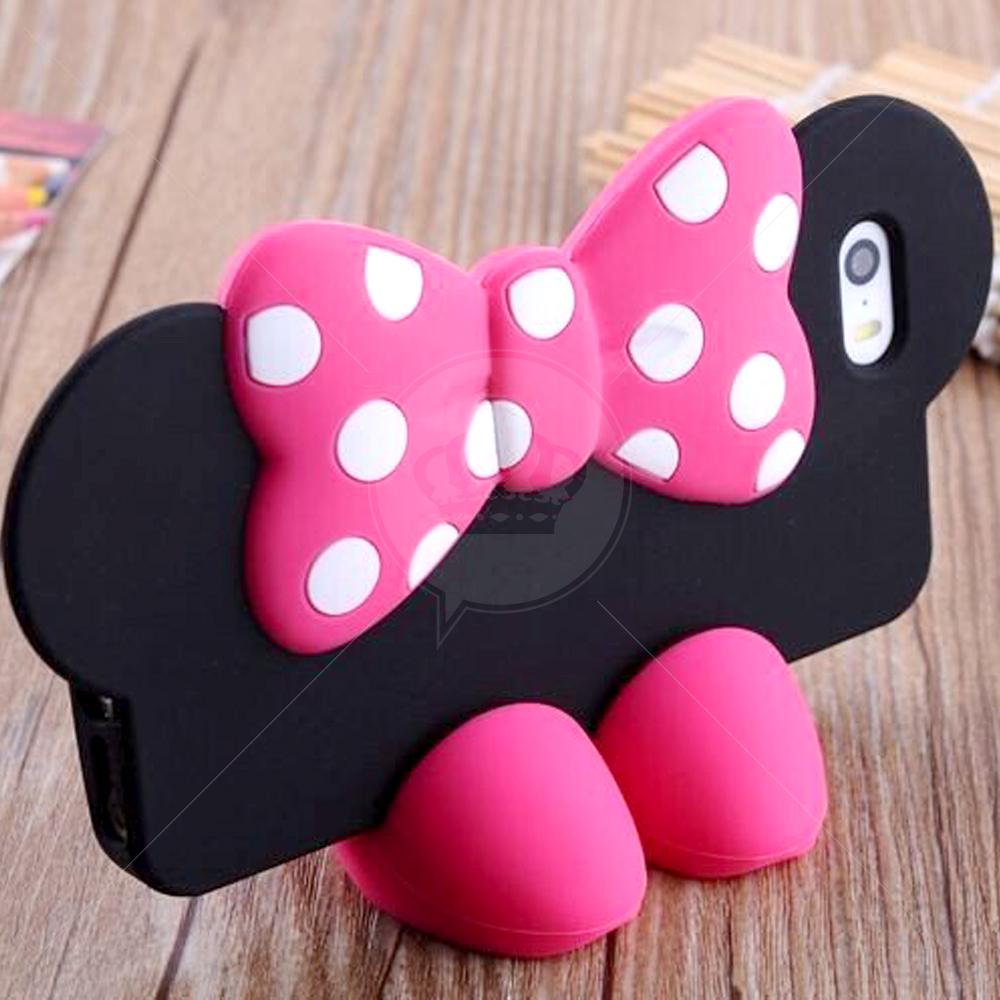 Capa Sapatinho Minnie para iPhone 5/5S
