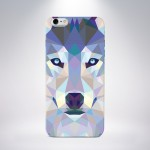 Capa Personalizada Lobo para iPhone 5/5S/5c/6/6 Plus e Galaxy S5