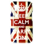 Capinha Keep Calm para Samsung Galaxy Ace