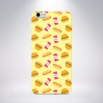 Capa Personalizada Fast Food para iPhone 5/5S/5c/6/6 Plus e Galaxy S5