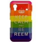 Capinha para Samsung Galaxy Ace Keep Calm Reem