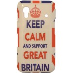 Capa para Samsung Galaxy Ace Keep Calm Britain
