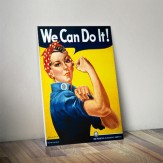 Poster Criativo - We can do it!