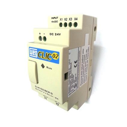 69b2138528e Controlador Lógico Programável - CLW-02 - WEG - Eletrolico ...