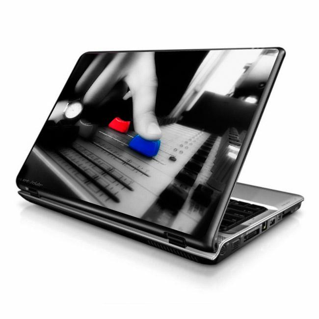 Adesivo De Notebook ~ Adesivo para Notebook musica 1