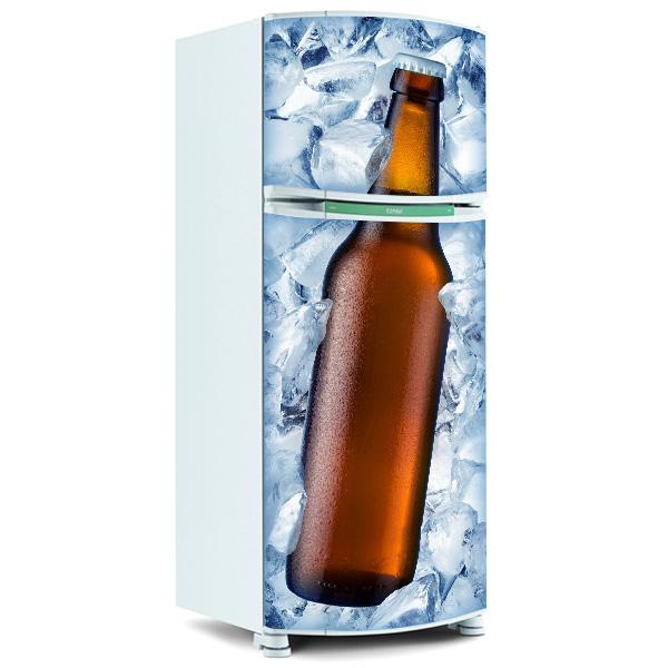 Adesivo De Natal Para Vidro ~ Adesivo de geladeira inteira Adesivo de geladeira