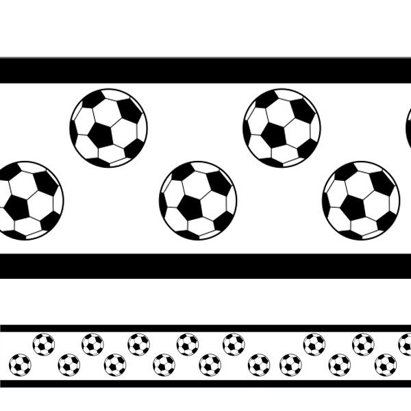 Whal Aparador De Pelos ~ Adesivo decorativo faixa Bola de Futebol