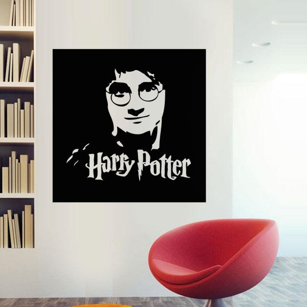 Aparador Blanco Y Negro Lacado ~ Adesivo de parede Harry Adesivo de parede Harry