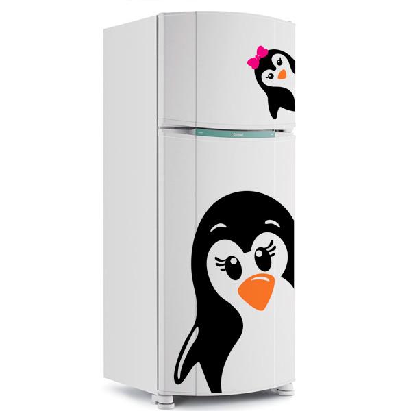 Aparador Baixo Mdf ~ Adesivo para Geladeira Pinguim Adesivo para Geladeira Pinguim