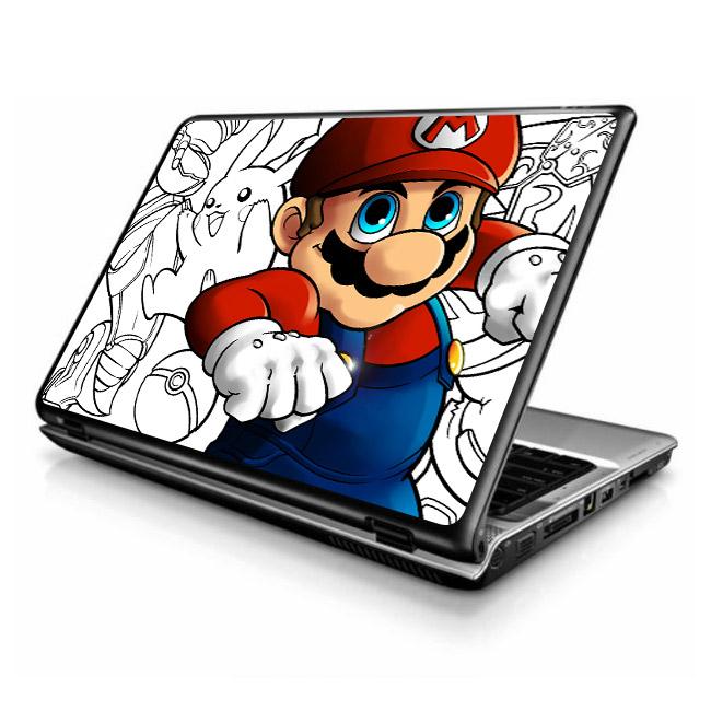 Adesivo De Parede Mapa Mundi Grande ~ Adesivo para Notebook Super Mario Fran Adesivos