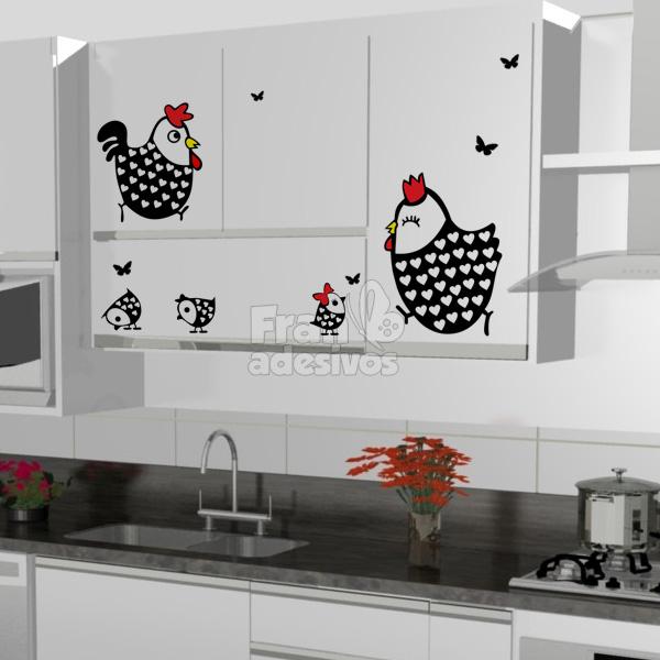 Garotas estilosas cozinhas decoradas com adesivos for Papel decorativo para armarios
