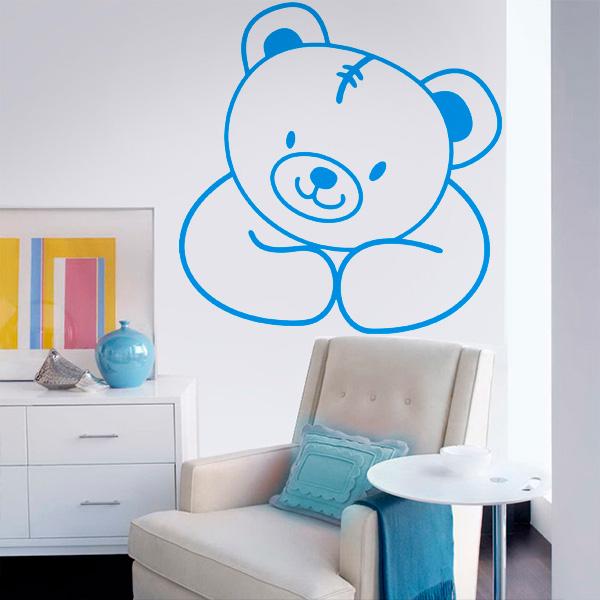 Adesivo de Parede Urso Adesivo de Parede Urso