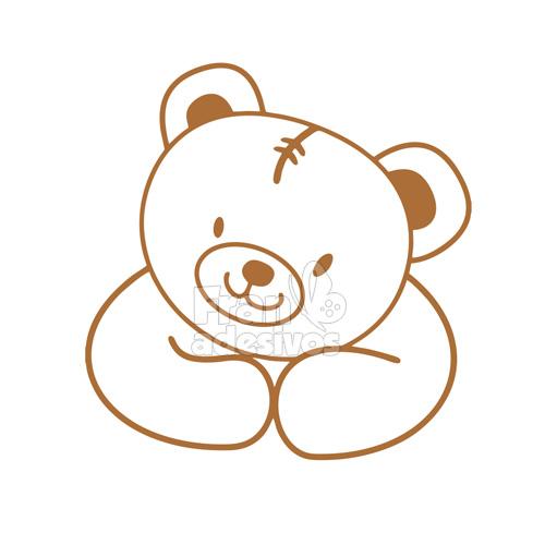 Adesivo Para Moto Z Play ~ Adesivo de Parede Urso Adesivo de Parede Urso