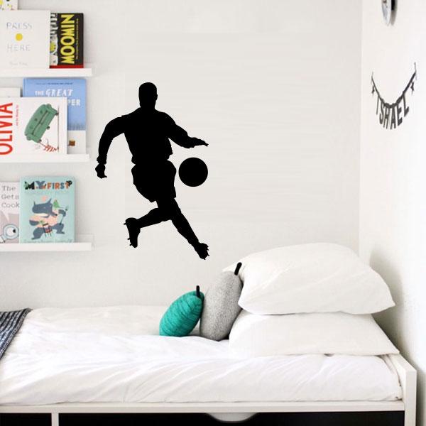 Armario Sinonimo De Arca ~ Adesivo de parede Jogador de Futebol Fran Adesivos