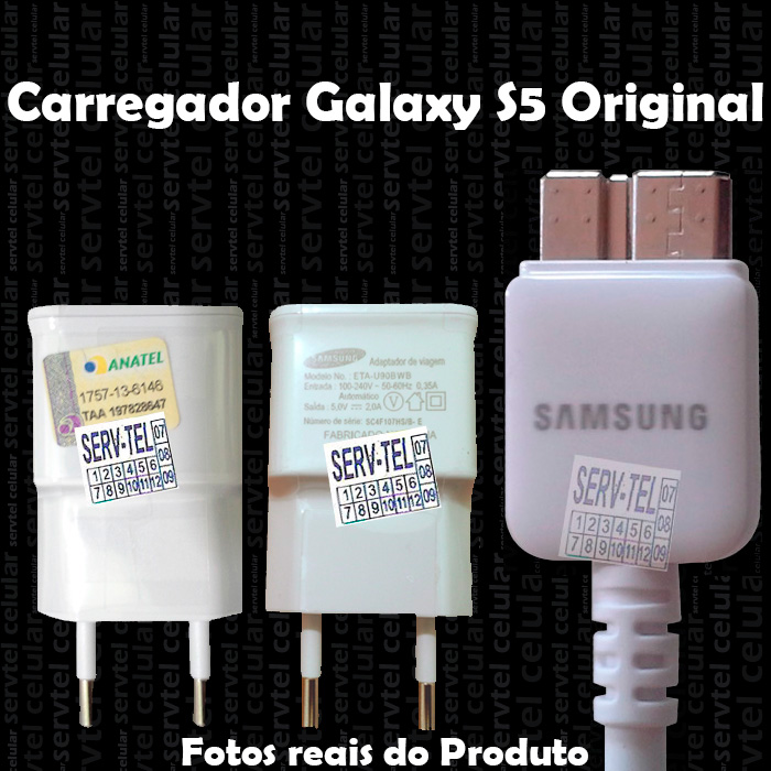 Carregador Samsung Galaxy S5 Original