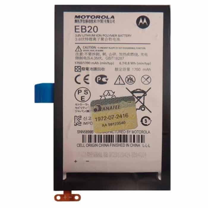 Bateria XT912 Motorola Original