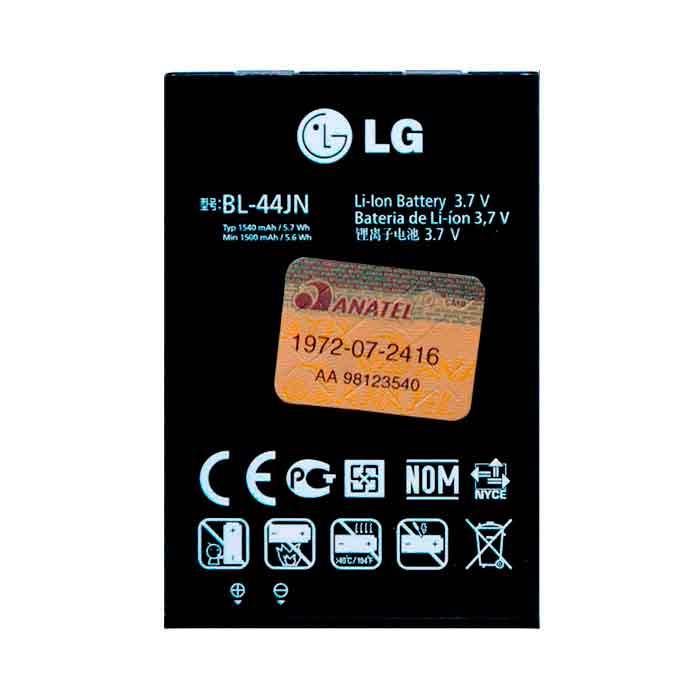 Bateria LG C398 Tri Chip BL - 44JN Original