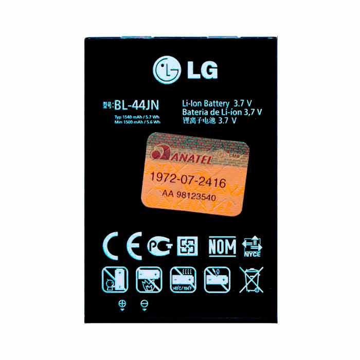 Bateria LG Fireweb D300 BL - 44JN Original