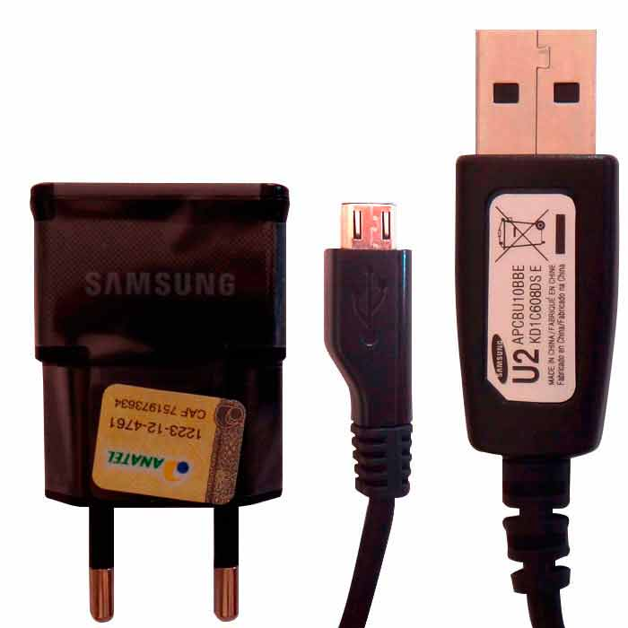 Carregador Samsung Galaxy Wind Duos TV SM - G360 Original 2 amperes