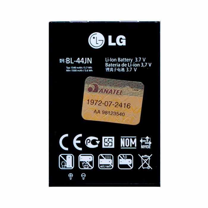 Bateria LG P970 Original de 1540 mAh Frete Grátis