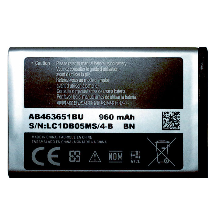 Bateria Samsung GH43 - 03244A AB483640BU Corby Original