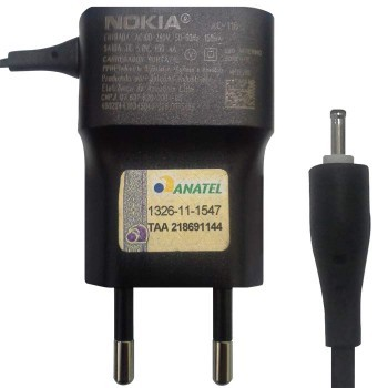 Carregador Nokia 7200 Pino Fino Original