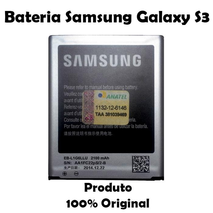 Bateria Galaxy GT - i9300 S3 - Bateria Samsung