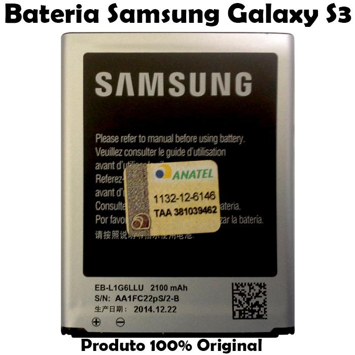 Bateria Galaxy S3 LTE Original - Bateria Samsung