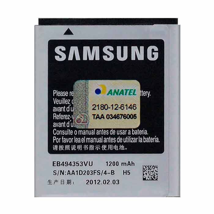 Bateria Galaxy Pocket NEO GT - S5310 - Bateria Samsung