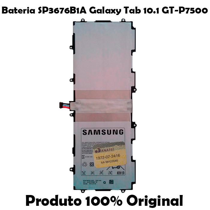 Bateria SP3676B1A Galaxy Tab 10.1 GT - P7500