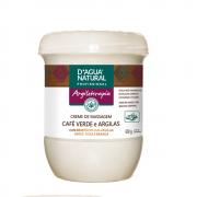 Creme de Massagem Café Verde e Argilas 650g