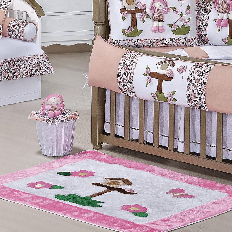 quarto bebe tema jardim:Tapete Quarto Bebê Juju Salmão – Essencial Enxovais