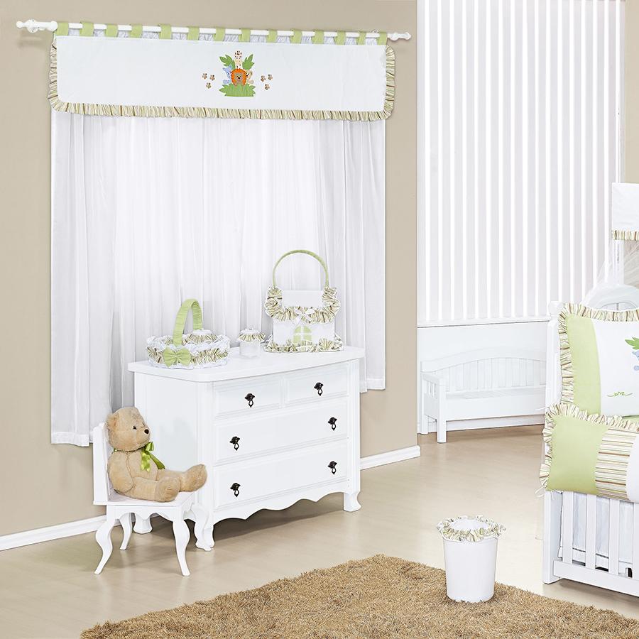 Quarto de Bebê Animal Verde Essencial Enxovais ~ Quarto Tema Verde