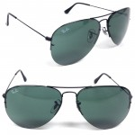 Ray Ban 3460 Aviator Flip Out Sunglasses
