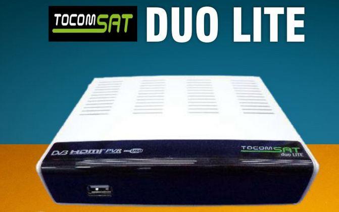 Colocar CS lite ATUALIZAÇÃO TOCOMSAT DUO LITE ( versão: 2.57 ) 09/11/2015 comprar cs