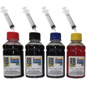 Kit Tinta Para Cartucho Hp 934 935 6830 6230 Pigmentada 400Ml