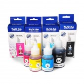 Kit Tinta Compatível Para Brother DCP T300 T300W T500W T700W MFC T800W BT 6001 5001 BK Y M C