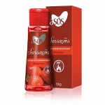 Gel as�s Sensa��s Beij�vel Morango Hot 50gr