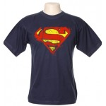 Camiseta Superman Desgastada